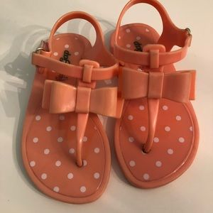 GAP Shoes - Gap Jelly Bow Sandals Toddler Size 9
